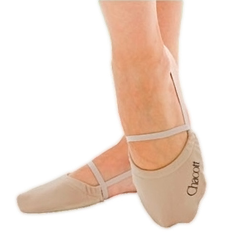 CHACOTT stretch half shoes for rhythmic gymnastics