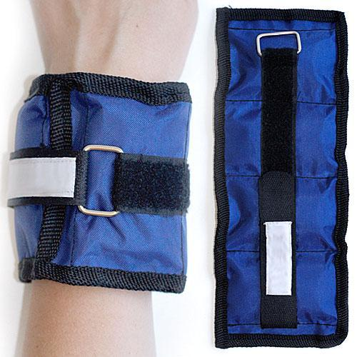 Ankle & wrist weights 1 kg with velcro closure
