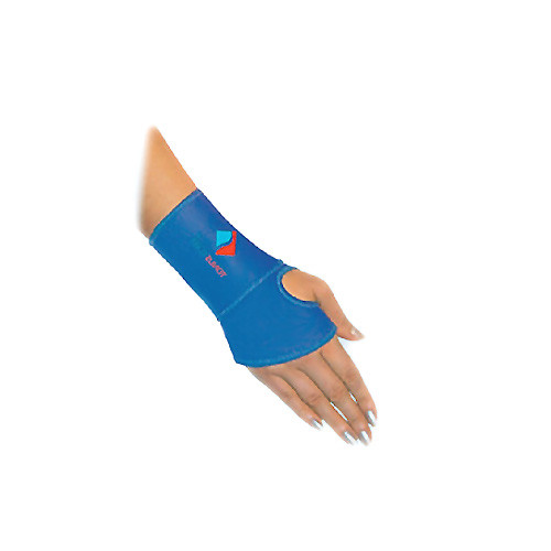 Elastic medical neoprene wrist splint
