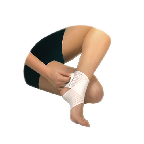 Elastic medical foot bandage ankle support
