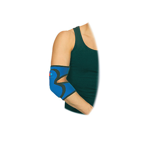 Elastic medical neoprene fixer for elbow joint, with padding