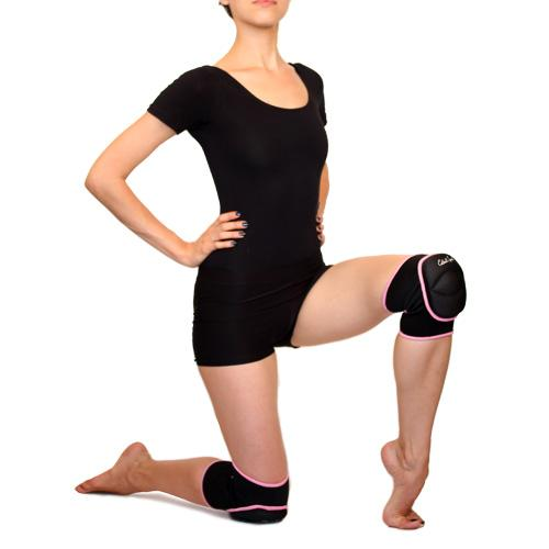 Knee pads for rhythmic gymnastics, acrobatics and dance practics