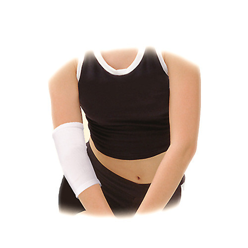 Elastic medical multipurpose tubular bandage, for elbow joint