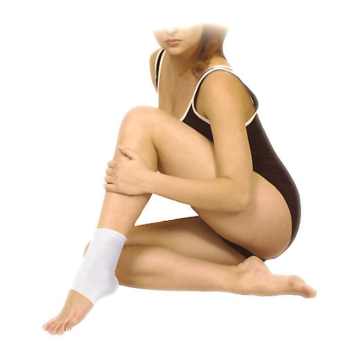 Elastic medical multipurpose tubular bandage, foot band, ankle support