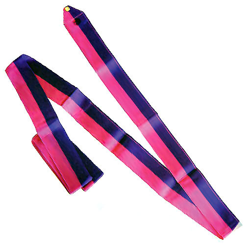 SASAKI Two-Tone ribbon for rhythmic gymnastics