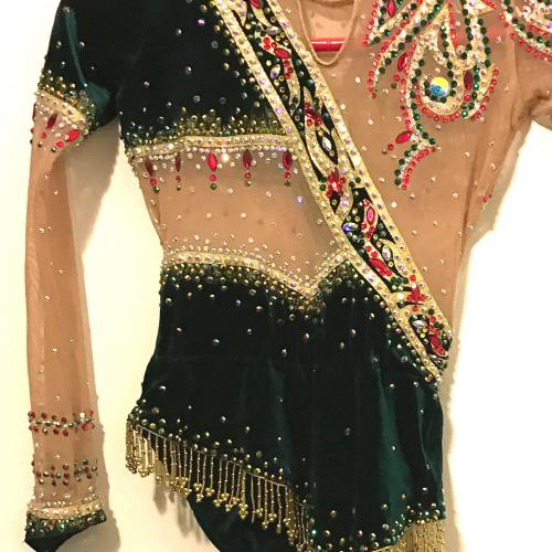 Leotard for Rhythmic Gymnastics